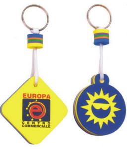 Schwimmende Schlüsselanhänger als Werbeartikel