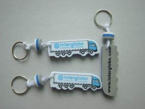 Schwimmende Schlüsselanhänger mit Logo
