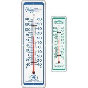 Aluminium-Werbung-Thermometer