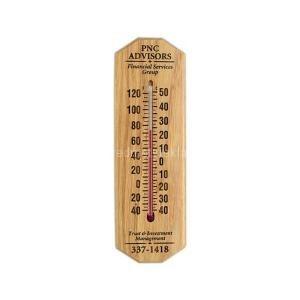 Hölzerne Werbung Thermometer