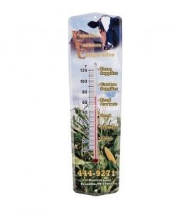 Kunststoff Werbung Thermometer